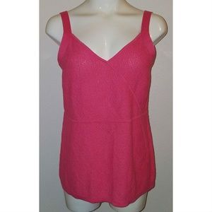 Tops - NWT Christopher & Banks Pink Tank Top Size Large